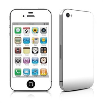 Apple iPhone 4 / 4S Solid State Skin - Hvid