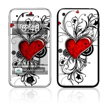 Apple iPhone 3G, 3GS My Heart Skin