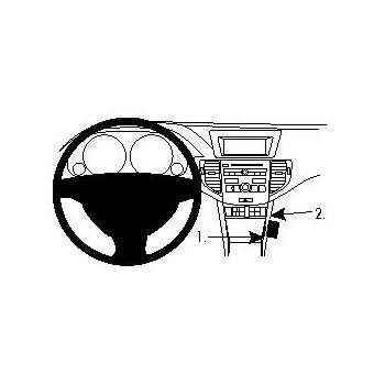 Brodit ProClip Honda Accord 09-12