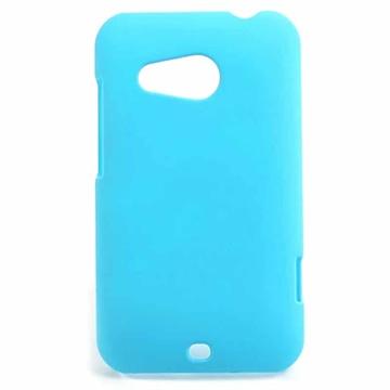 HTC Desire 200 Gummiagtig Cover - Lyse Blå MTP Products til  - MediaNyt