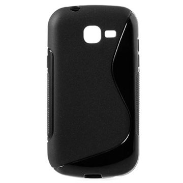 Samsung Galaxy Fresh S7390 S-Curve TPU Cover - Sort MTP Products til  - MediaNyt.dk