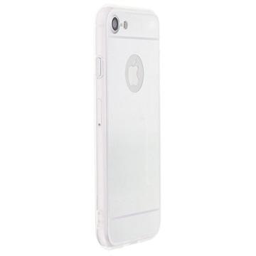 Saii Mirror iPhone 7 TPU Cover - Sølv