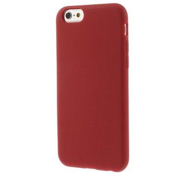iPhone 6 / 6S Silikone Cover - Rød