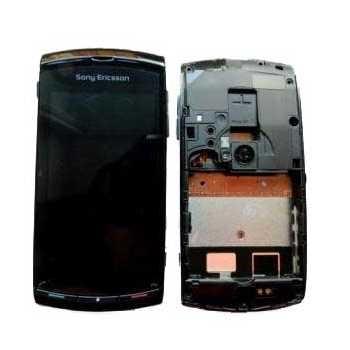 Sony Ericsson Vivaz For Cover & LCD Display - Sort