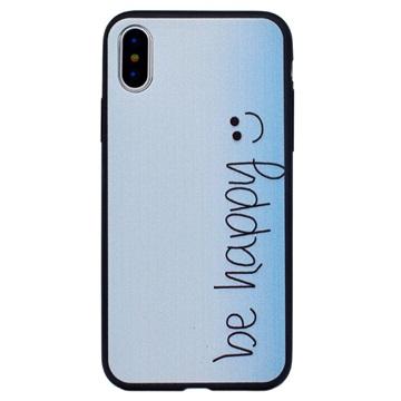 Stilfuld iPhone 8 TPU Cover - Be Happy