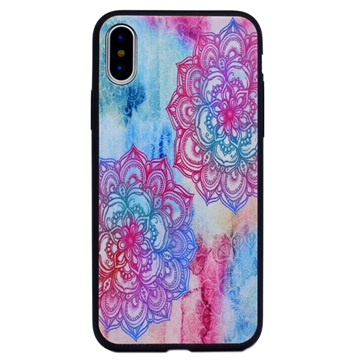 Stilfuld iPhone 8 TPU Cover - Lotusblomst