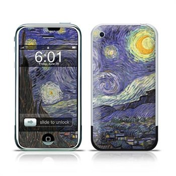Apple iPhone Van Gogh - Starry Night Skin