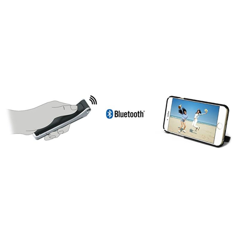 iphone 6 6s flip it selfie stick cover sort. Black Bedroom Furniture Sets. Home Design Ideas