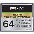 PNY Elite Performance Compact Flash Hukommelseskort - 64GB
