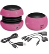 Aktive Mini H�jttaler - SOUNDBALL PINK