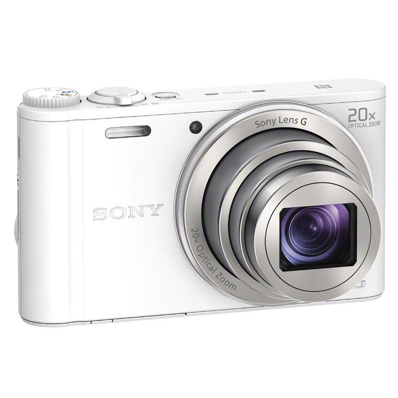 sony cyber shot dsc wx350 digital kamera hvid. Black Bedroom Furniture Sets. Home Design Ideas