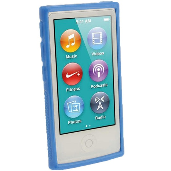 Ipod nano 7g igadgitz clip 39 n 39 go tpu cover bl for Housse ipod nano